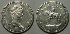 CANADA.  1 DOLAR 1973. MOUNTIE.   LEVES  RAYITAS.      SC -