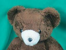 VINTAGE 1979 CHOCOLATE BROWN TEDDY BEAR DAKIN PLUSH STUFFED ANIMAL TOY SITTING