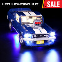 Led Light Kit for Lego 10265 A Ford Mustang Creative Race Car Building Blocks
