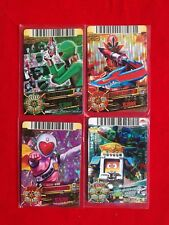 4 X MIXED LOT  SUPER SENTAI DICE-O DX CARD JAPANESE CARDDASS HOLO CARD #0205