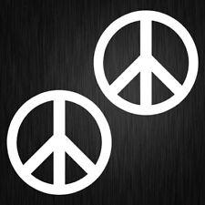 PEACE SYMBOL STICKER,VINYL CAR DECAL, 90mm x 90mm