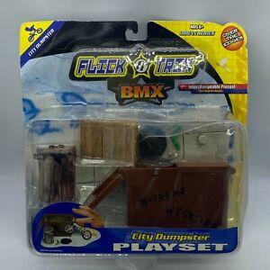 2001 Spin Master BMX Flix Tricks City Dumpster Playset - NEW IN BOX