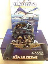 okuma citrix Ci-254v 8 Bearing Bait Casting Fishing Reel, Right Hand Reel