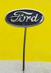 FORD - old vintage pin badge, American car anstecknadel distintivo automobile !