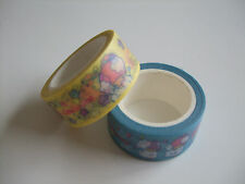 NEW!! Sanrio Little Twin Stars Kawaii Masking Washi Tape 2pcs/Type B