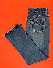 LEE ... Comfort  Waist ... Bootcut  Denim  Blue  Jeans  #3500951 ... Size  8