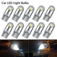 10x voiture t5 W5W lumière 3030 ampoule SMD LED Canbus Wedge erreur intérieure B