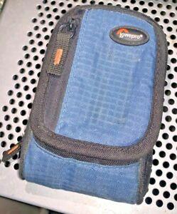 LowePro Ridge 30 Compact digital Camera Case, Black / Blue with strap
