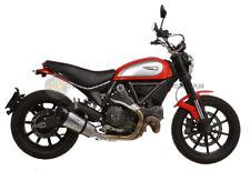 Ducati Scrambler 800 Icon 2016 16 MARMITTA TERMINALE DI SCARICO LEOVINCE IN ACCI