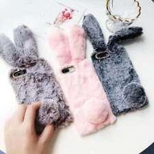 Hot Warm Plush Rabbit Cute Cartoon Fashion Women 3D Phone Case Cover For Huawei