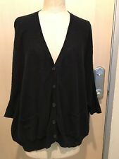 VINCE. Womans 3/4 Sleeve Oversized Cardigan Size S