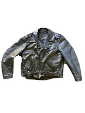 Harley Davidson Leather Vintage SHOVELHEAD Biker Jacket USA Large