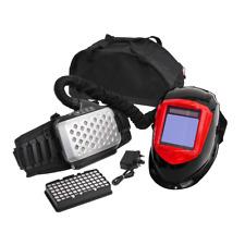 Sealey Welding Helmet with Air Purifying Respirator Auto Darkening Shade 5-8