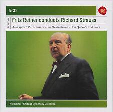 Fritz Reiner conducts Richard Strauss: Zarathustra, Heldenleben, 5 CDs, wie neu