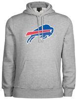 New Era NFL Buffalo Bills Suéter Con Capucha Sudadera Gris Hombre