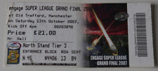 Ticket Super League Grand Final 2007 St. Helens Leeds Rhinos in Manchester
