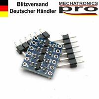 5x Pegelwandler 5V-3,3V 4 Kanal Channel Level Shifter Converter I2C Arduino
