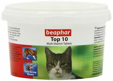 Cat Vitamins Beaphar TOP 10 180 Tablets food supplement minerals young adult