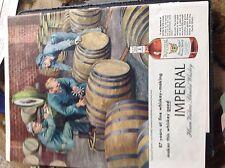 N1-7 Ephemera 1945 advert imperial hiram walkers whisky