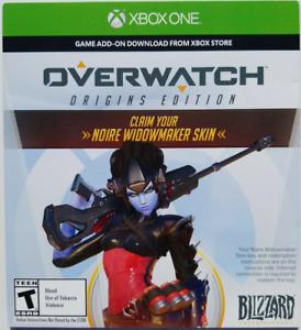 Noire Widowmaker Skin in Overwatch (XBOX ONE)