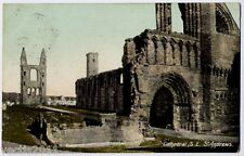 St Andrews, Fife Scotland vintage Wrench Postcard - Cathedral Ruins - 1908