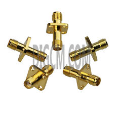 SMA Female to SMA Female Adapter Flange Mount SA0N1SA0N-3 ---5pcs