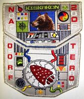 KISKAKON OA75 ANTHONY WAYNE AREA FLAP BEAR NOAC 2006 SMY 2-PATCH DELEGATE RARE