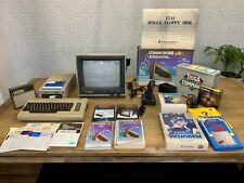 Vintage Commodore 64 Computer Complete w Boxes, Monitor Disk Drive Bundle Tested