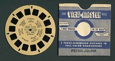 Sawyer's View-Master Buff Hand-Lettered Reel 41, Grand Teton NP, Wyoming