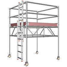 Layher STARO Rollbock 7001 Alu | Fahrgerüst | Rollrüstung | Rollgerüst | Gerüst