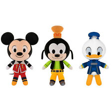 Funko Plushies - Kingdom Hearts Series 1 - SET OF 3 (Mickey, Goofy & Donald)