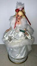 1996 Happy Holidays 1989 Barbie Limited Edition Collector'S Musical Numbered 701