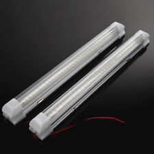 2X 72 LED Interior Light Strip Bar Car Van Bus Caravan ON/OFF Switch 12V  3#A