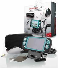 dreamGEAR Starter Kit Lite for Nintendo Switch Lite - Case, Grip, Earbud, & More
