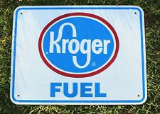 Authentic Retired Michigan Highway Road Sign - Kroger Fuel, Man Cave, Garage
