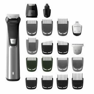 Philips MULTIGROOM SERIES 7000 Rechargeable Face, Head & Body Trimmer, 23-Pieces