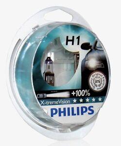 2 Light Bulbs H1 PHILIPS x-Treme Vision Jaguar XF, XJ, XK8 x-Type +100% 55W