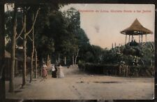 1911 Peru RPPC Picture Postcard Cover To Tübingen Germany Lima Exposition