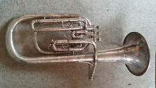 "Old small Swiss tenorhorn, Alto horn?  ""Couesnon Monopol Paris """