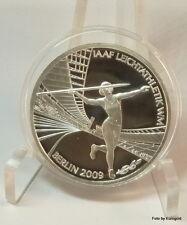 """Deutschland, 10-Euro 2009 -D- """"IAAF Leichtathletik WM Berlin"""" Silber/PP"""