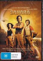 SAHARA - MATTHEW MCCONAUGHTY & PENELOPE CRUZ -  NEW & SEALED REGION 4 DVD