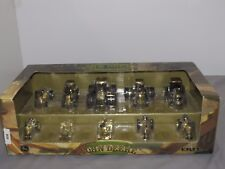 GOLD JOHN DEERE 200th Anniversary 1/64th Scale 10 Piece Tractor Set NIB GOLD