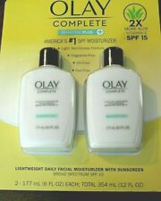 New- 2 PACK Olay Complete UV Moisturizer Sensitive Plus W/ Sunscreen (6 oz each)