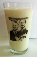 ARE YOU BEING SERVED? John Inman, Wendy Richard  PINT SIZE BEER GLASS