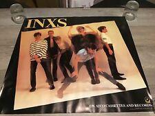 INXS rare Promo Poster