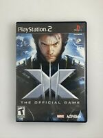 X-Men: The Official Game - Playstation 2 PS2 Game - Complete & Tested