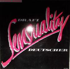 "12"" Maxi Drafi Deutscher - Sensuality Extended Version MINT- ,Electrola  1986"