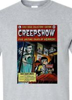 CREEPSHOW t-shirt retro horror movie Stephen King 1980s cotton blend graphic tee