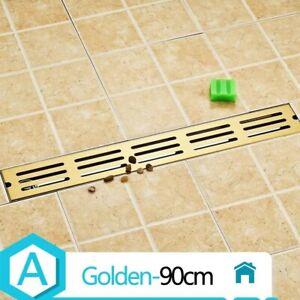 Bodenablauf Modell 304 Edelstahl Geruch-beständig Dusche Ablauf Chrom Gold