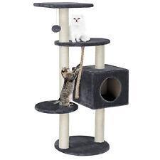 [en.casa]® design arbre à gratter gris arbre d'escalade chats sisal L